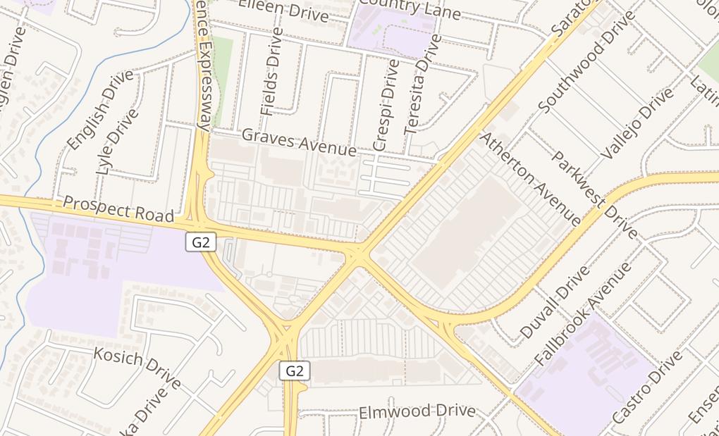 map of 5205 Prospect Rd Ste 145-150San Jose, CA 95129