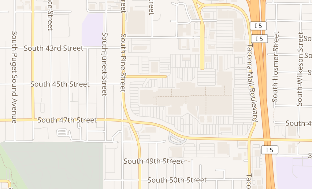 map of 4502 S Steele St Ste 616Tacoma, WA 98409