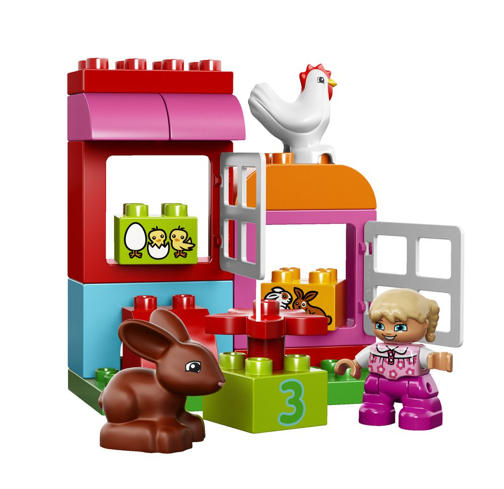 LEGO DUPLO® All-in-One Box of Fun - Pink #10571 -