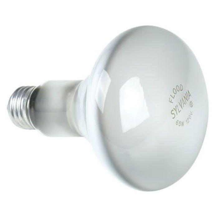 Sylvania Incandescent Reflector Flood Lamp BR30 Medium Base 120V Light Bulb 65W