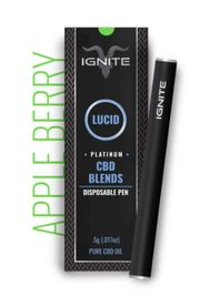 Hemp CBD- Ignite Vape Apple Berry at Curaleaf Maine