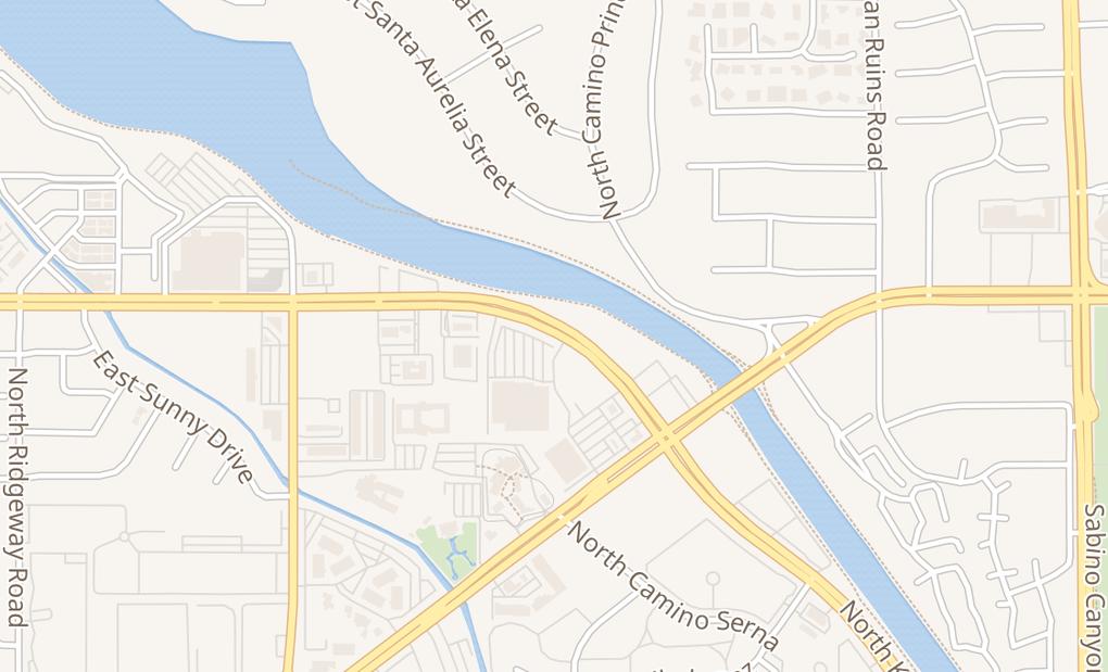 map of 6572 E Grant Rd Ste 110Tucson, AZ 85715