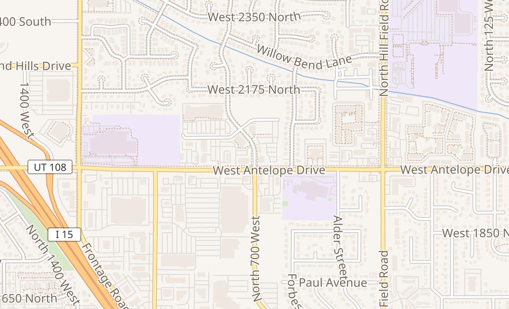 map of 2035 N Harris Blvd Ste ALayton, UT 84041