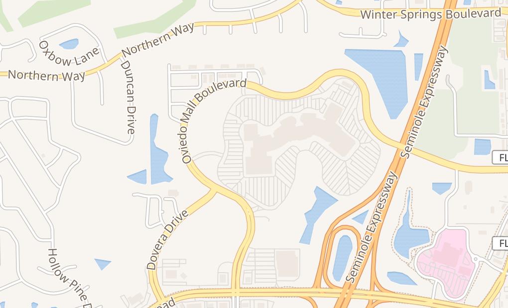 map of 1700 Oviedo Mall Blvd # 5504Oviedo, FL 32765