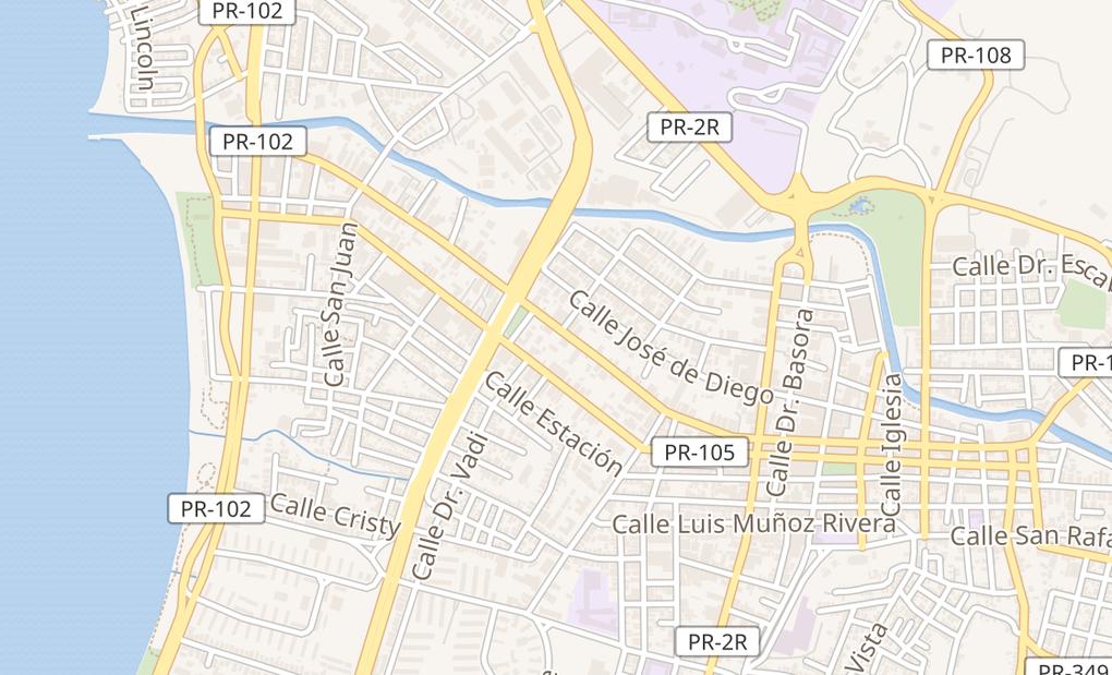 map of 975 Ave HostosMayaguez, PR 00680
