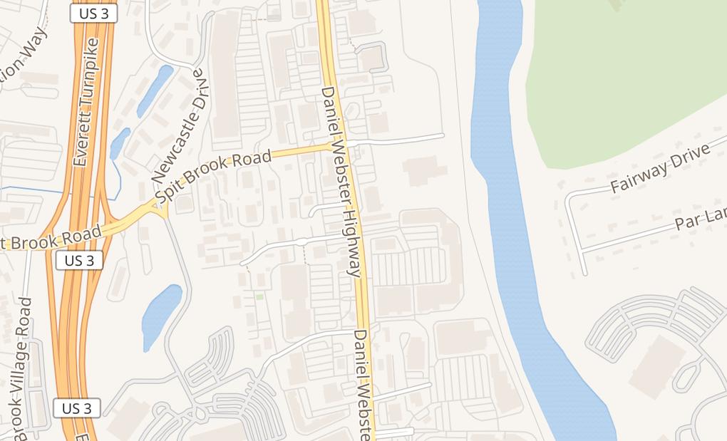 map of 254 Daniel Webster HwyNashua, NH 03060