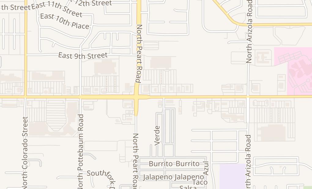 map of 1550 E Florence Blvd Ste 103Casa Grande, AZ 85122
