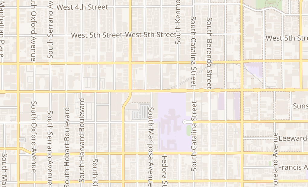 map of 3422 Wilshire BlvdLos Angeles, CA 90010