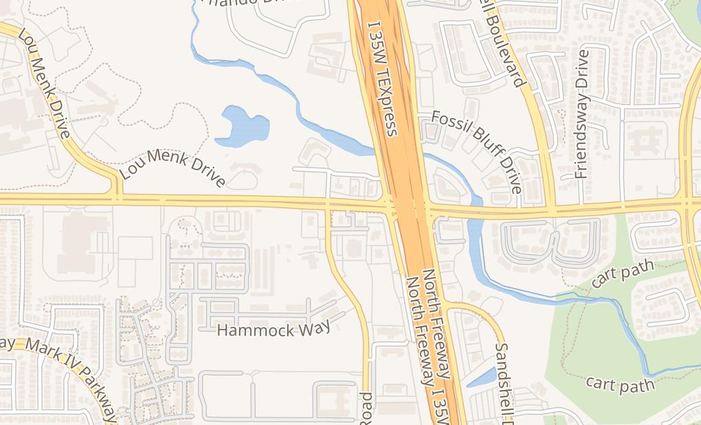 map of 3032 Western Center BlvdFort Worth, TX 76131