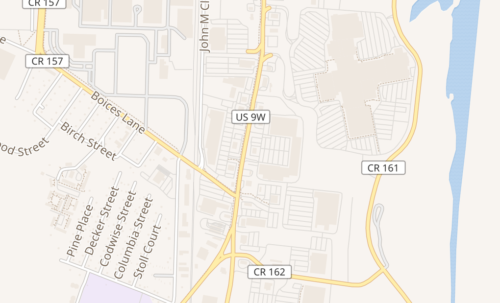 map of 1178 Ulster Ave #K2Kingston, NY 12401