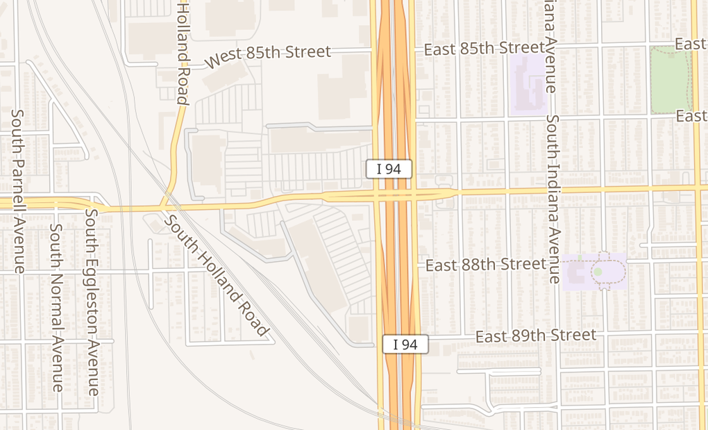 map of 51 W 87Th StreetChicago, IL 60620