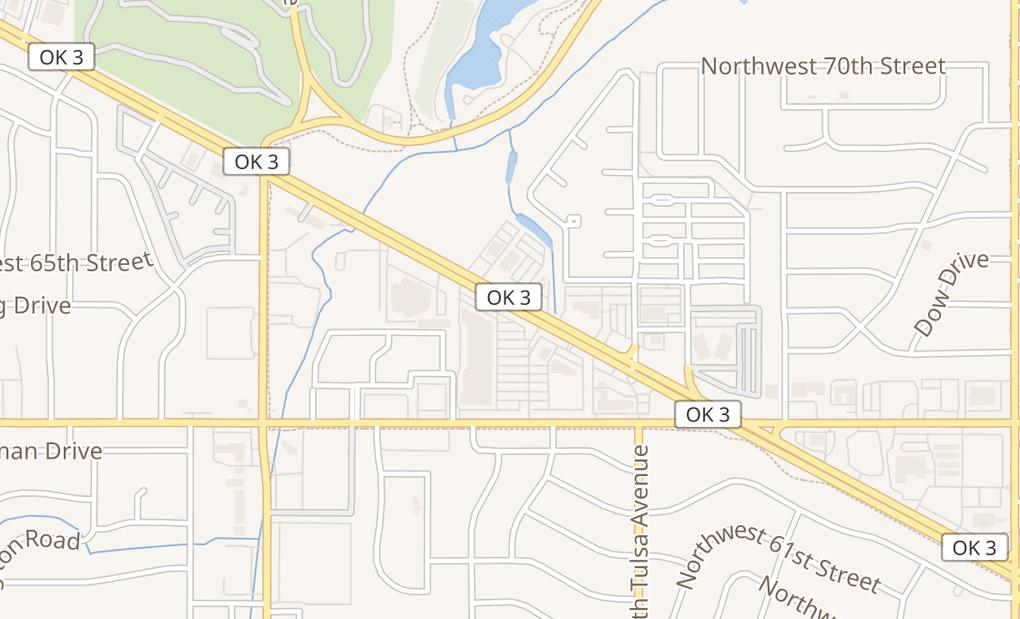 map of 4236 Nw Expressway Ste 112Oklahoma City, OK 73116