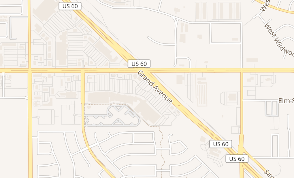 map of 13371 W Grand Ave Ste C-101Surprise, AZ 85374