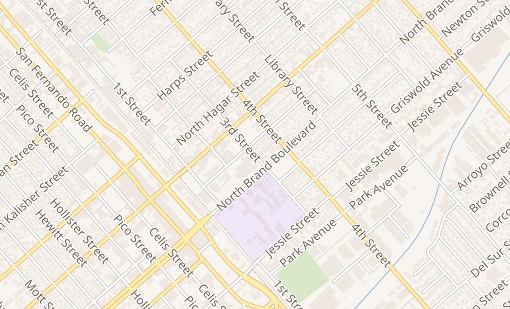 map of 120 N Maclay Ave Ste CSan Fernando, CA 91340