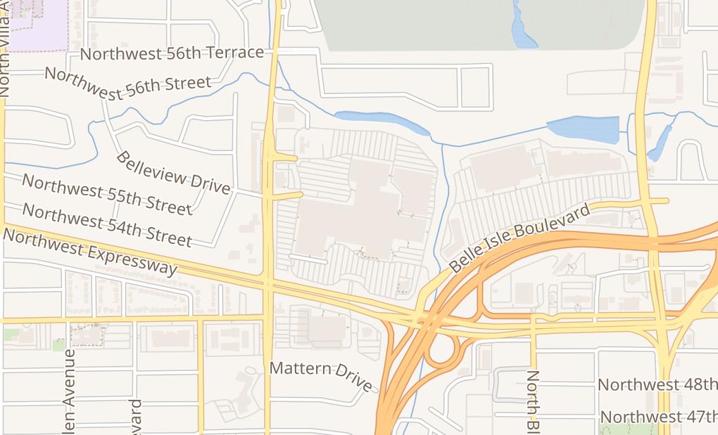 map of 1901 Nw Expressway Ste 2057AOklahoma City, OK 73118
