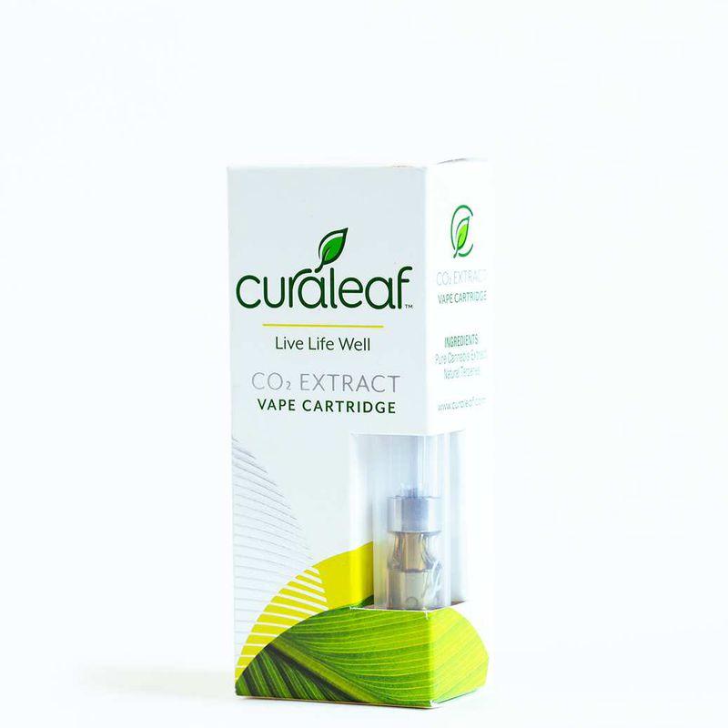 Cartridge .5g - Green Crack - Curaleaf