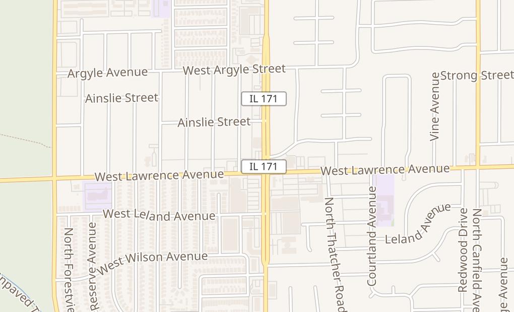 map of 4820 N Cumberland AveNorridge, IL 60706