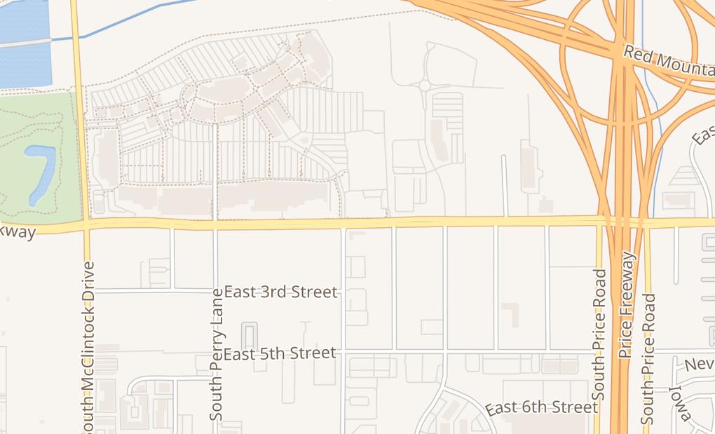 map of 2010 E Rio Salado Pkwy Ste 125Tempe, AZ 85281