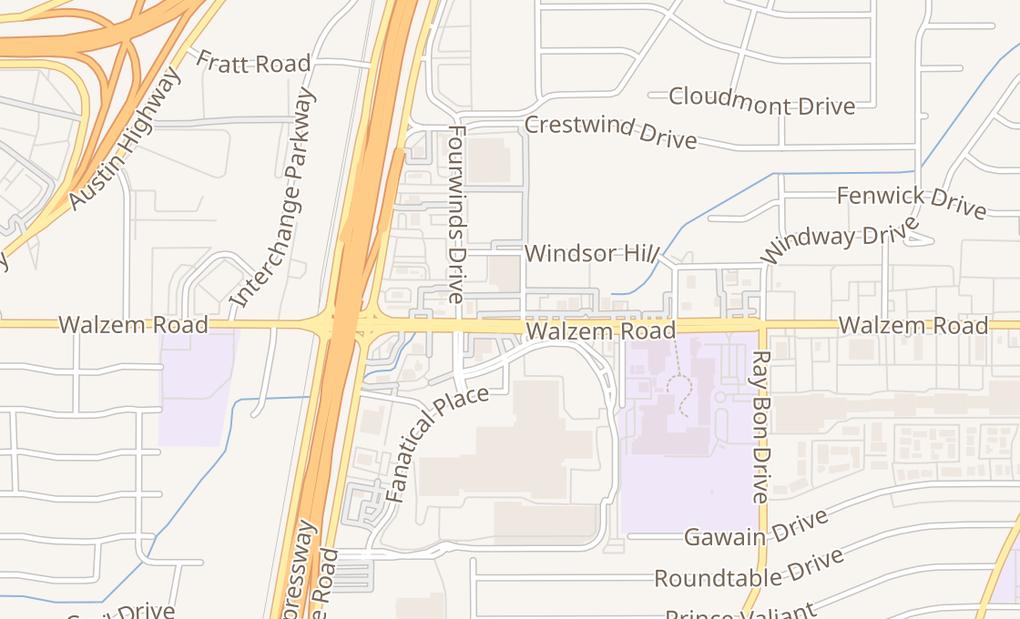 map of 4917 Walzem RdSan Antonio, TX 78218