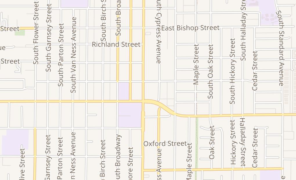 map of 1015 S Main St Ste ASanta Ana, CA 92701