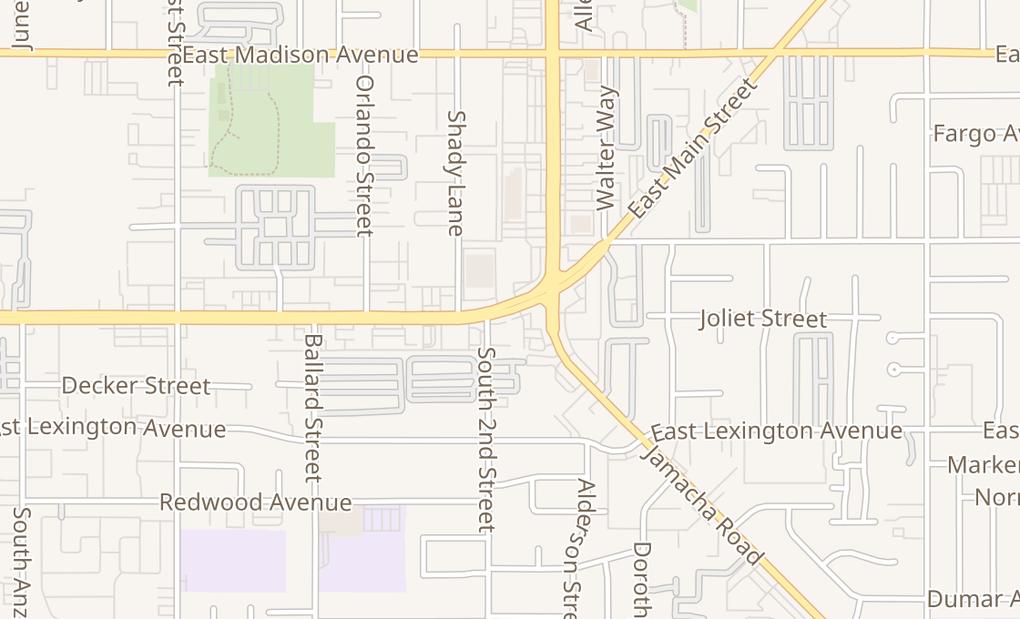 map of 1291 E Main St Ste 109El Cajon, CA 92021