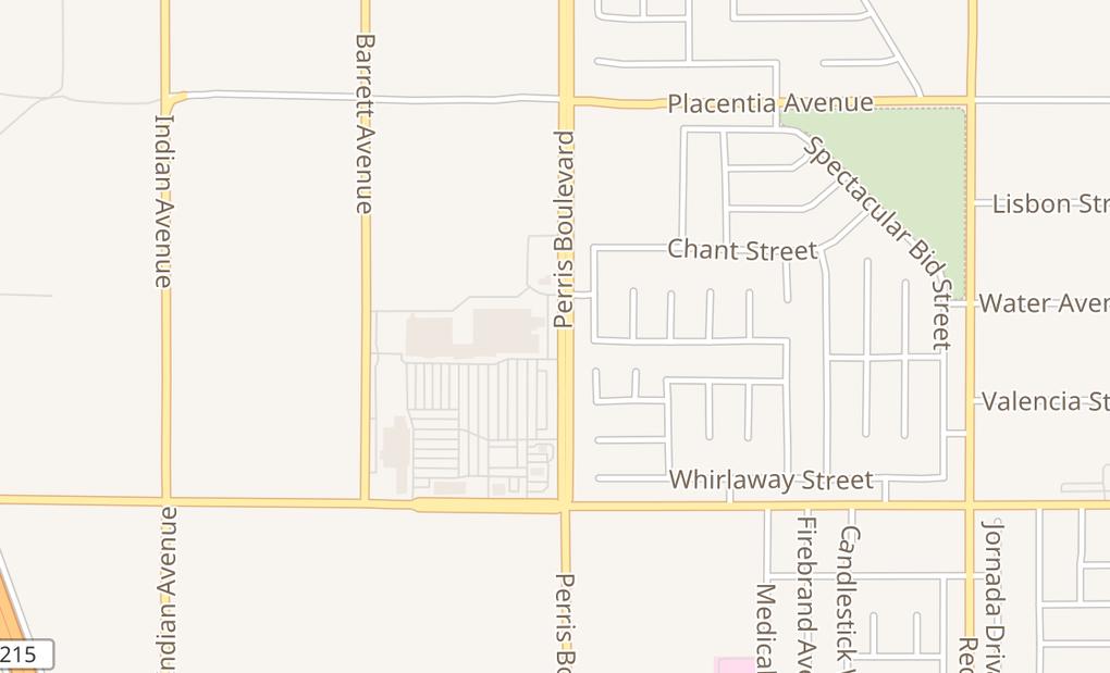 map of 2560 N Perris Blvd Ste J3&J4;Perris, CA 92571
