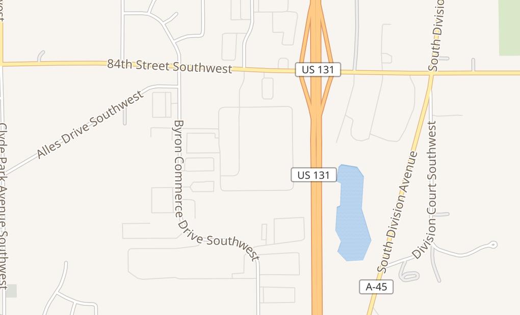 map of 350 84Th St Sw Ste 1110Byron Center, MI 49315