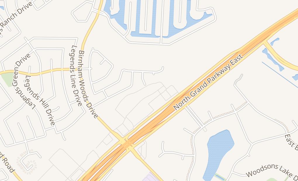 map of 4057 Riley Fuzzel Rd Ste 200Spring, TX 77386