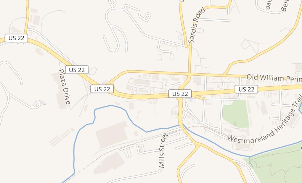 map of 102 Blue Spruce Way Spc 2Murrysville, PA 15668