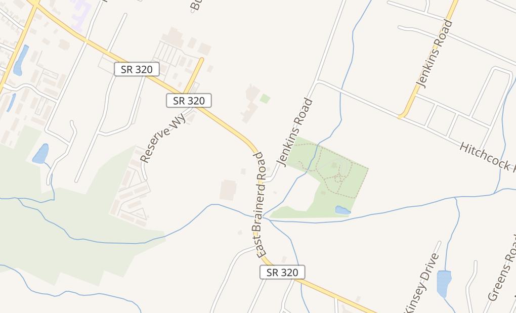map of 7772 E Brainard RdChattanooga, TN 37421