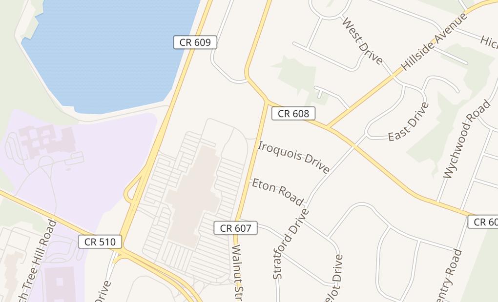 map of 112 Eisenhower Parkway Space 1058Livingston, NJ 07039