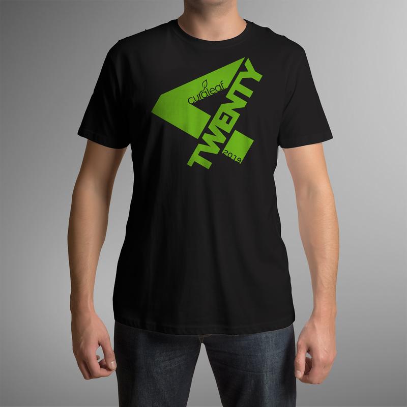Curaleaf 420-2019 T-Shirt - Black (M) - Curaleaf | In-store Only - Titusville, FL