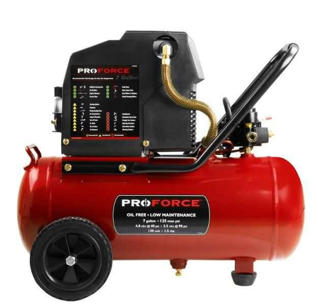 Rural King Air Compressor >> Mat Industries Air Compressor 1 Hp 7 Gal Vpf1580719