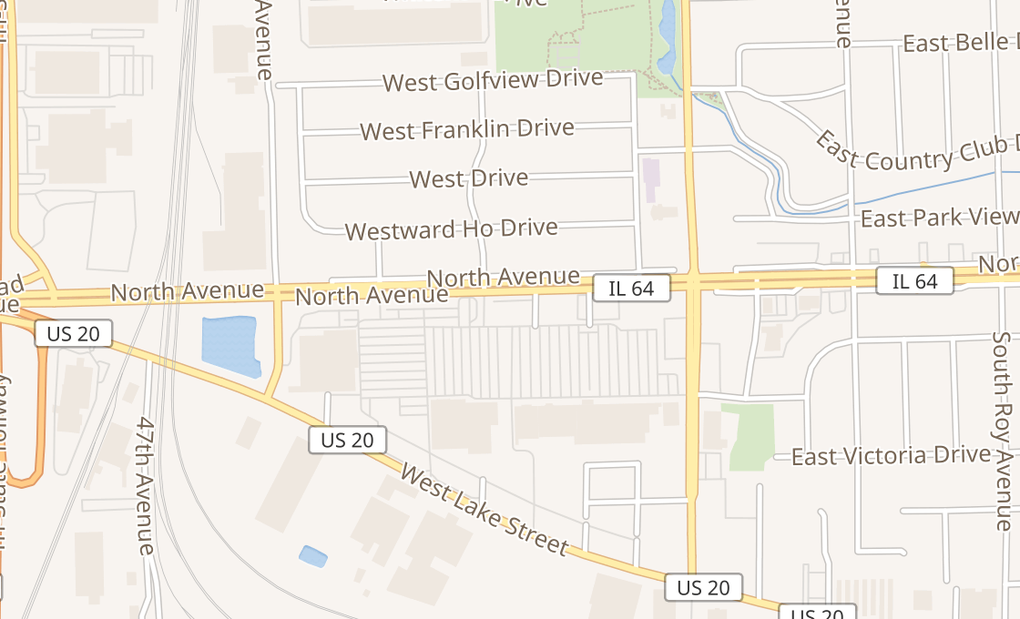 map of 75 W North Ave Ste 700Northlake, IL 60164