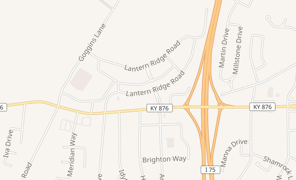 map of 2091 Lantern Ridge Dr Ste 600Richmond, KY 40475