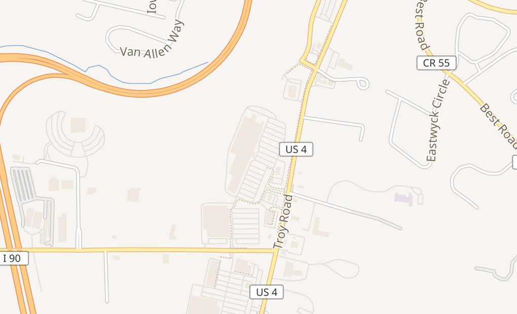 map of 600 N Greenbush RdRensselaer, NY 12144