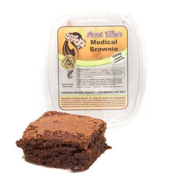 Aunt Ellies | Indica Brownie 150mg - Aunt Ellies