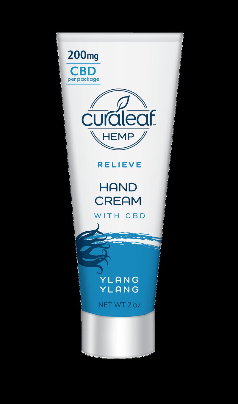 Hemp CBD Hand Cream - Ylang Ylang - Curaleaf