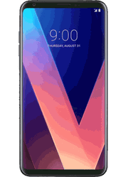 LG V30 plus | LGLS9982BLK at Sprint Gateway Courtyard