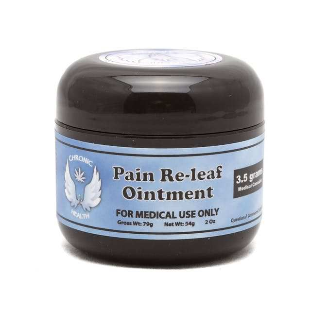 Pain Re-leaf Ointment | 350mg - CHRONIC HEALTH