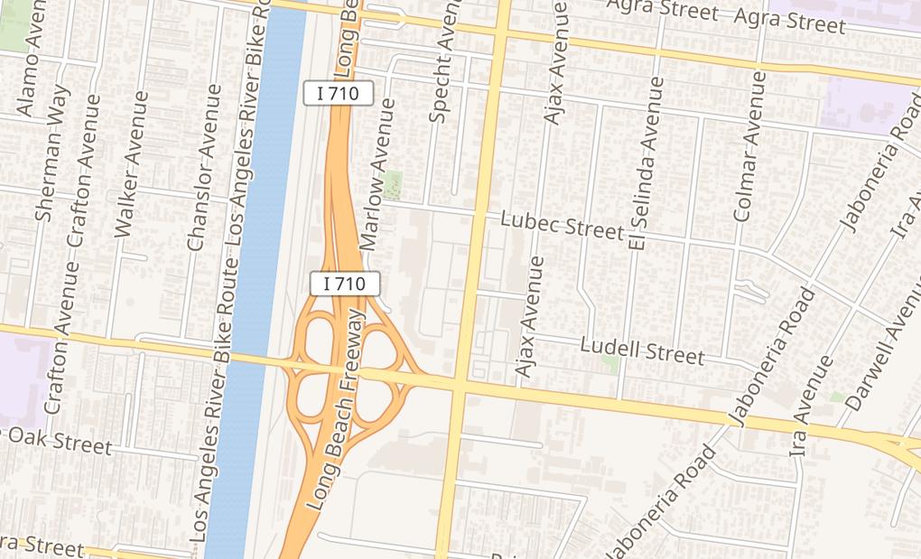 map of 6919 Eastern AveBell Gardens, CA 90201