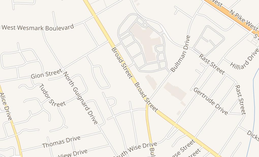 map of 1024 Broad StSumter, SC 29150