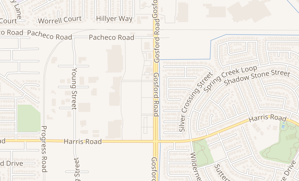 map of 5321 Gosford Rd Unit 101Bakersfield, CA 93311