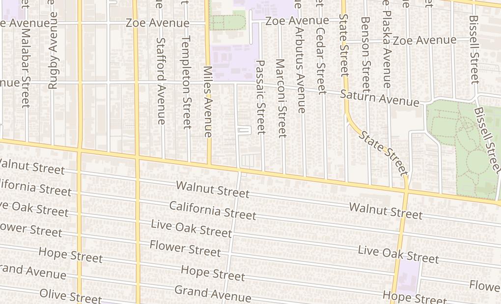 map of 2907 E Florence AveHuntington Park, CA 90255