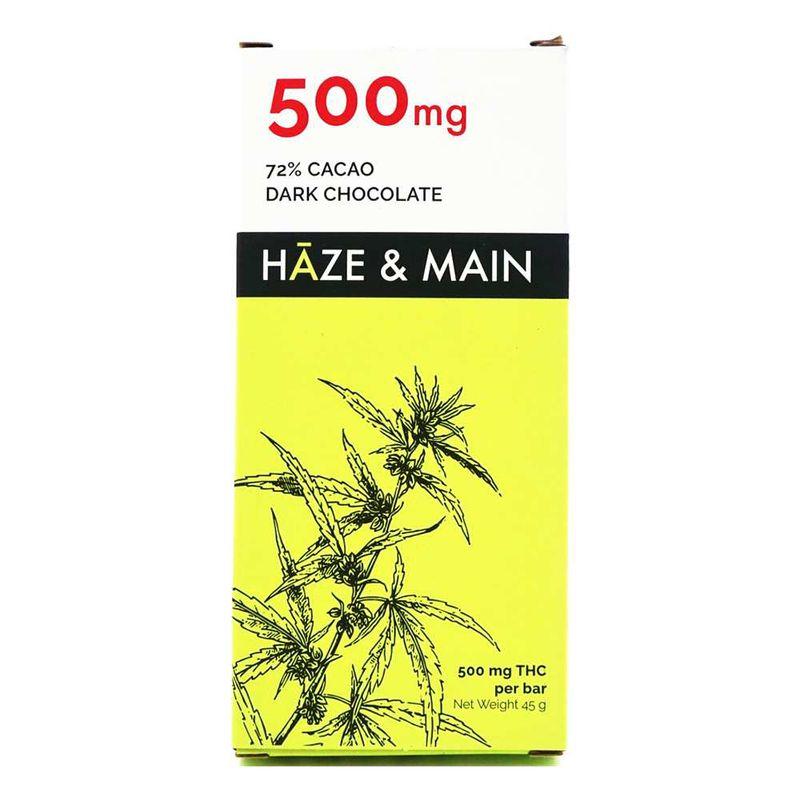 Haze and Main | Milk Chocolate Bar | 500mg - Haze and Main