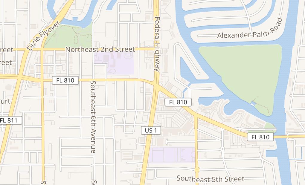 map of 29 S Federal HwyDeerfield Beach, FL 33441