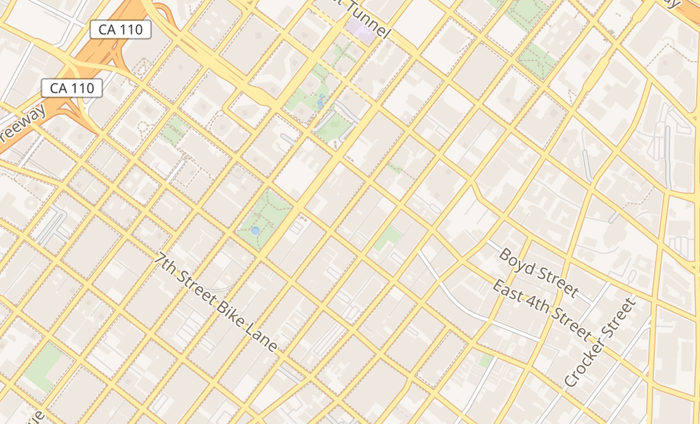 map of 432 S BroadwayLos Angeles, CA 90013