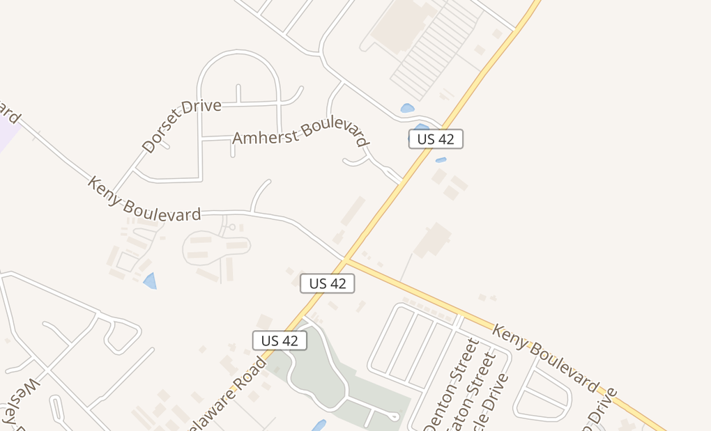 map of 289 Lafayette St Ste JLondon, OH 43140