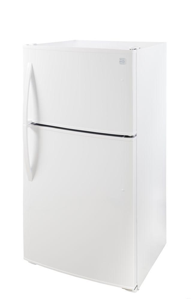b8b7a25e4b2 Kenmore 61212 20.8 cu. ft. Top-Freezer Refrigerator – White - Kenmore -