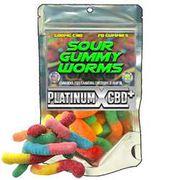Hemp CBD- Gummy Sour Worms at Curaleaf Maine